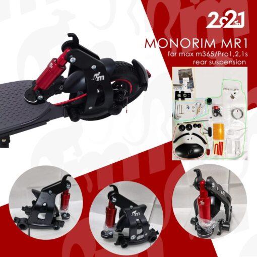 Odpružení zadního kola Monorim na elektro koloběžku